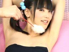 Watch Japanese slut Yuri Hamada receiving ass massage