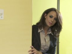 Slutty patients Kaylani Lei & Chanel Preston get poked missionary on the table