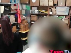 Milf and teen busted and fucked after shoplifting