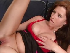 Hot Redhead takes Morgan Blanchette big black dick