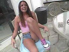Cute flirty teen Tori Black loves dirty sex