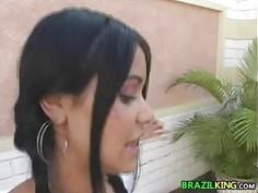 19 Year Old Brazilian Anal Fucked