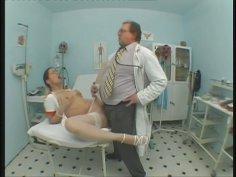 Ugly cum addicted nurse Nancy sucks doctor's tasty cock