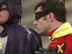 Alexis Presley fucks the bat man in this porn parody