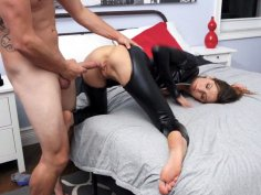 Avery Moon gets banged from behind