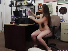 Dominatrix On The Rack At The Pawnshop