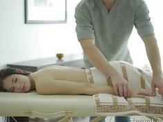 Teeny Lovers Massage with something extra