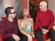 Mrs. Candy Swinger Slut Wife As Hubby Watches
