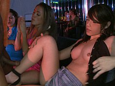 Wild bachelorette party