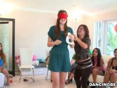 Incredibly slutty girls are driving bachelorette party